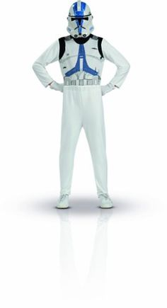 Star Wars Clone Trooper Action Suit Size 8 to 10 @ niftywarehouse.com #NiftyWarehouse #Geek #Products #StarWars #Movies #Film