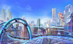 Downtown : cyberprep Episode Interactive Backgrounds, Episode Backgrounds, Anime Backgrounds Wallpapers, Anime Scenery Wallpaper, Futuristic City, Futuristic Architecture, City Architecture, Sci Fi City, Hd Wallpaper 4k