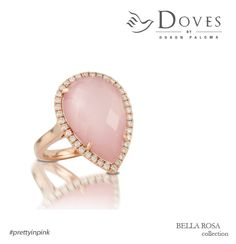 #prettyinpink. A new ring from the #bellarosa collection.