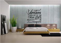 Dream Believe Inspire Hope Kid's Bedroom by sunsetsigndesigns, $19.99