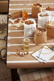 Be Different...Act Normal: Super Bowl Party [Table]