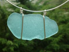 sea glass - could make this... I've spent hours gathering sea glass since I live about 2 miles from Lake Michigan in WI. Also great for mosaics!