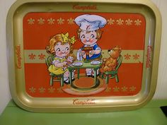 Vintage Campbells  Soup Tin Tray