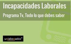 Próximo jueves, 18 de junio a las 18h estaremos en directo en PTV MÁLAGA para hablar sobre Incapacidades Laborales. +info: http://www.uniabogados.com/incapacidades-laborales-en-tv/
