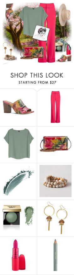 """Spring is coming"" by ladyscarlet01 ❤ liked on Polyvore featuring Patricia Nash, Alice + Olivia, NIC+ZOE, Bobbi Brown Cosmetics and Estée Lauder"