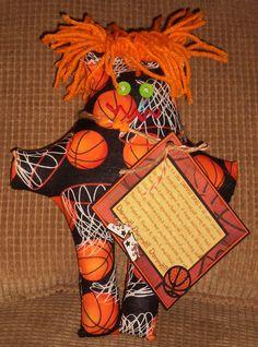 Basketball Dammit Doll - Laurie's DDoLLs