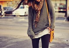 comfy fall clothes.