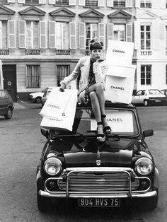 Fiat 500 and Chanel #fiat500