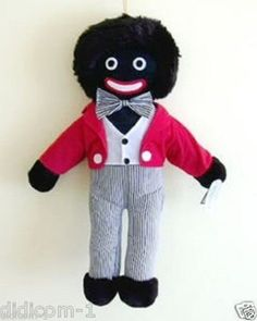 """Golly 42cm Gollywog,Golliwog,Gollies Robinsons Golly Doll Toy Teddy Bear"""" 16 Traditional Gollies, do you know someone who used to play with these in their childhood?  Seem to be making a comeback!!!  Only £8.50"""