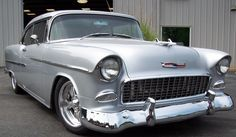 Absolutely LOVE the old classic cars ...  This would be my dream car!  1955 Chevy Belair Restored by Select Motors