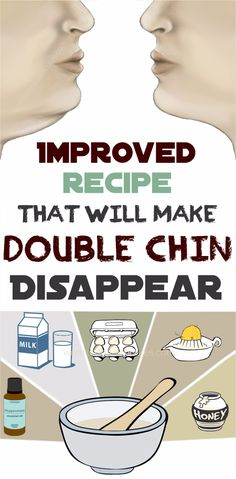 Improved recipe that will make double chin disappear