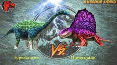 Supersaurus VS Dimetrodon 5 Star   Jurassic World The Game [1080P]