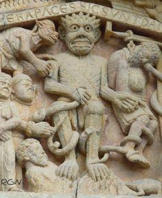 ICONOGRAFÍA ROMÁNICA - Página 2 Santa Fe de Conques