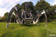 Mantis, A Piloted 2-Tonne Hexapod Robot