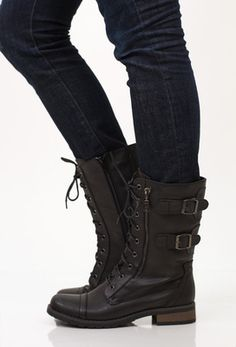 Ryder Combat Boot, Black
