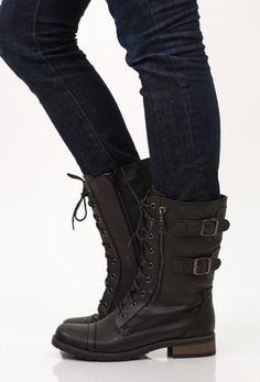 Ryder Combat Boot, Black
