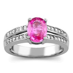 I'm loving colored gemstone rings!