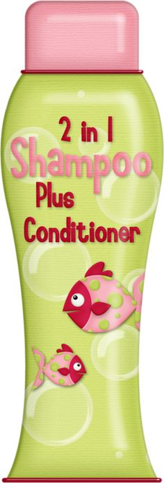 Green 2 in 1 shampoo