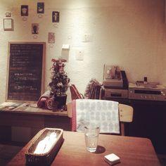 [2013/11/25]    ランチ待ちー❤︎      @ SCOPP CAFE (新宿)