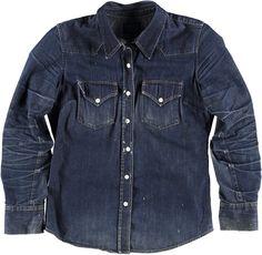 Raw Denim Jacket by Jean Shop