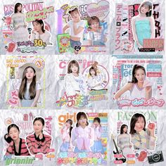 Graphic Design Trends, Graphic Design Posters, Graphic Patterns, Overlays Cute, Arin Oh My Girl, Overlays Instagram, Kids Diary, Coloring Tutorial, Cool Magazine