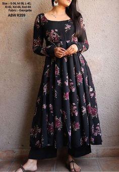 Long Kurta Designs, Simple Kurta Designs, Kurta Designs Women, Stylish Dress Designs, Designs For Dresses, Party Wear Indian Dresses, Designer Party Wear Dresses, Kurti Designs Party Wear, Indian Fashion Dresses