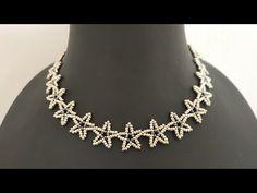 Yıldız Kolye/ How to make Star Necklace – DIY jewelry Celtic Wire Jewelry, Wire Jewelry Making, Beaded Necklace Patterns, Beaded Bracelets, Wire Jewelry Designs, Bead Jewellery, Star Necklace, Beads And Wire, Delaware