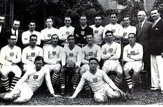 USA team group at the 1930 World Cup Finals.