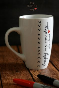 The Best of this Life | DIY Sharpie Mugs