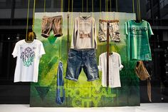 EDC Tropical City windows May – June 2014 by Deck5