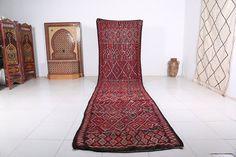 Handwoven kilim, 3.9ft x 15.6ft, Long rug, Long runner rug, Hallway rug, Handwoven runner,