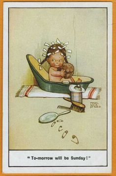 Mabel Lucie ATTWELL card