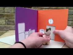 Cereal Box to Foldable Doll's House DIY (perfect take along house) - Red Ted Art's Blog : Red Ted Art's Blog
