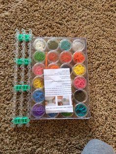 My rainbow loom set