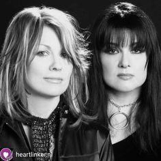 Nancy Wilson Heart, Wilson Sisters, Music Heart, Sisters By Heart, We Will Rock You, Best Rock, Stevie Nicks, Great Bands, Pop Music