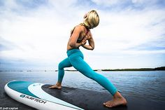"Cape Ann SUP Yoga on the 11'6"" Universal"