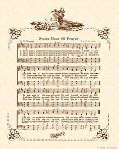 In seasons of distress and grief, my soul has often found relief ... by thy return, sweet hour of prayer.