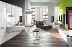Las cocinas cobran protagonismo en las casas actuales y se integran completamente en nuestro día a día.