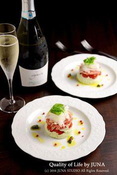 【ワインにあうおつまみレシピ】生ハム&バジルチーズの前菜 レシピブログ