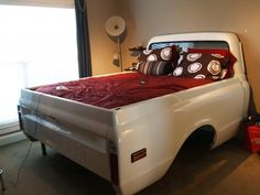 1970 Chevy truck bed