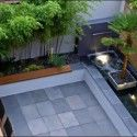 Small Backyard Landscaping With Plants - Home Design and Decoration Contemporary Garden Design, Garden Landscape Design, Small Backyard Landscaping, Landscaping Ideas, Backyard Ideas, Courtyard Design, Outdoor Gardens, Roof Gardens, Simple Designs