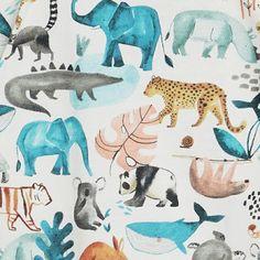 print & pattern Kids Patterns, Print Patterns, Nursery Wall Art, Alphabet Nursery, Jungle Print, Sketchbook Inspiration, Jungle Animals, Pattern Illustration, Safari