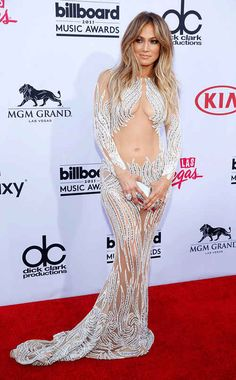 "Jennifer Lopez in a ""Naked dress"" Jennifer Lopez, Sexy Dresses, Beautiful Dresses, Formal Dresses, Kendall Y Kylie Jenner, J Lo Fashion, Celebs, Celebrities, Hot Girls"
