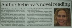 Thanks to Cleethorpes Chronicle for sharing news of this author event.