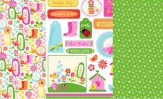 Jennifer Ellory Garden Delights Papers & Sentiments