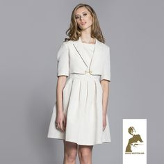 Maria Westerlind jacket Unni, light-beige, ss15, www.mariawesterlind.com Light Beige, Ss 15, Spring Summer 2015, Shirt Dress, Jackets, Shirts, Collection, Dresses, Fashion