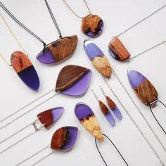 Wood Jewels Fused with Resin – Fubiz Media