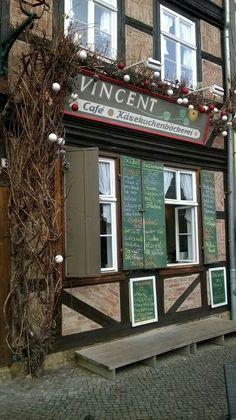 Weltbestes Käsekuchencafe in Quedlinburg.... lecker!
