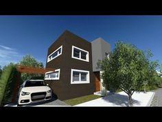 "Planos de Casas Modernas - Proyecto De Arquitectura ""San Miguel"""