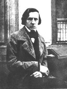 Chopin photographié par Nadar